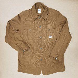 Lee Workwear Denim Jacket Rust Mens Size Small